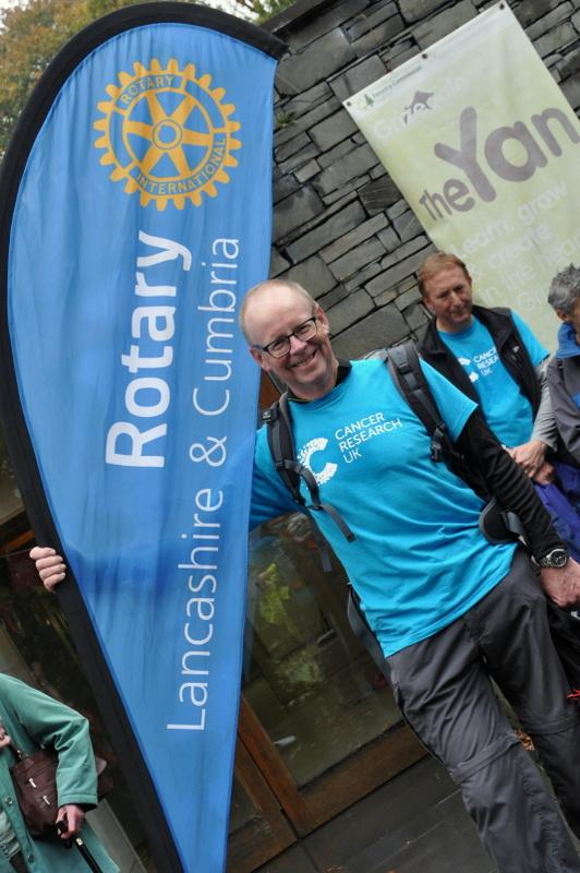 Bill's Big 542 in 2016 Challenge for Cancer Research UK -
