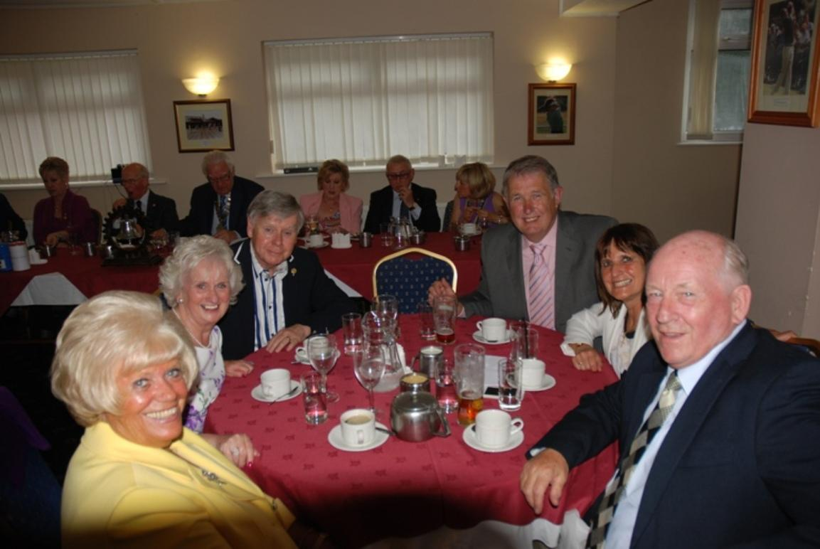 INDUCTION OF PRESIDENT ERIC HIND - 3RD JULY 2017 - Eric and Anne's personal guests.