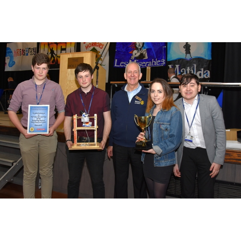 Technology Tournament 2018 - 80-Advanced Winners Haslingden High School