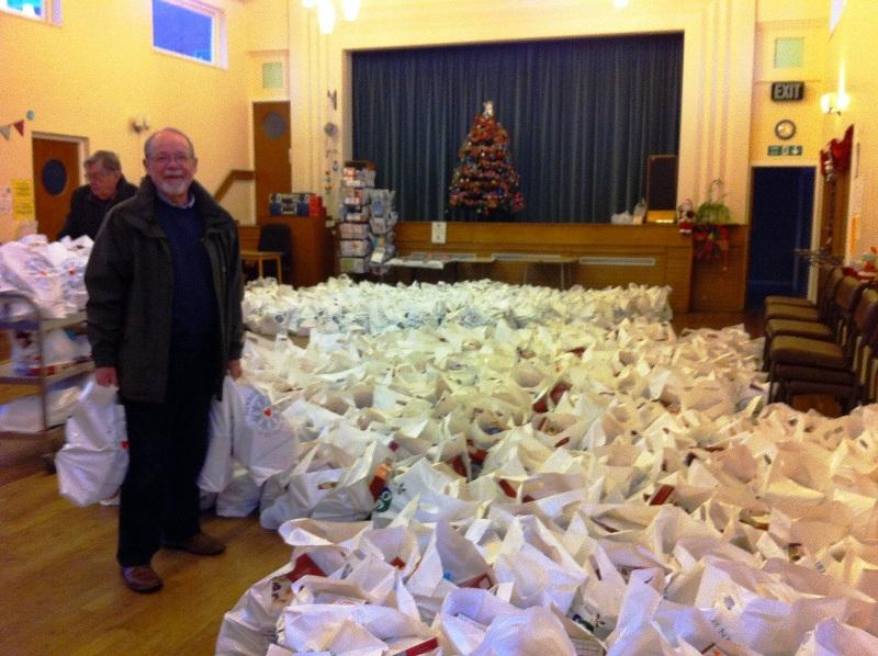Newbury Weekly News Over 80's Parcel Distribution -