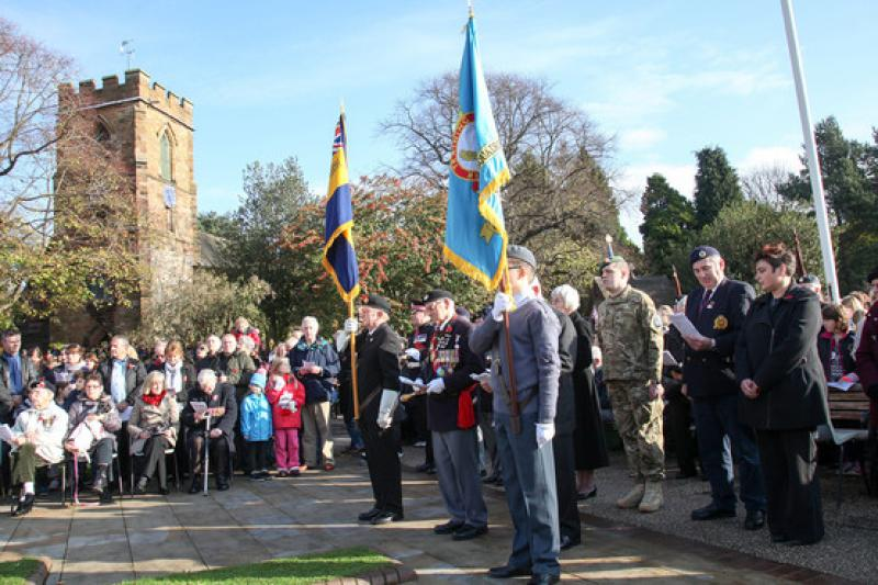 Remembrance Parade in Aldridge - 8136265