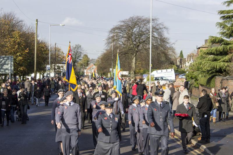 Remembrance Parade in Aldridge - 8136266