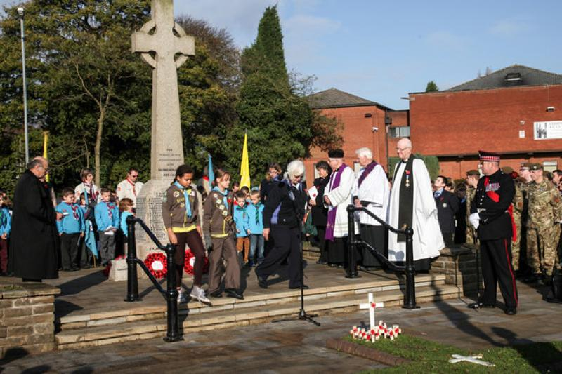 Remembrance Parade in Aldridge - 8136268