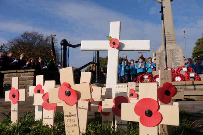 Remembrance Parade in Aldridge - 8136272