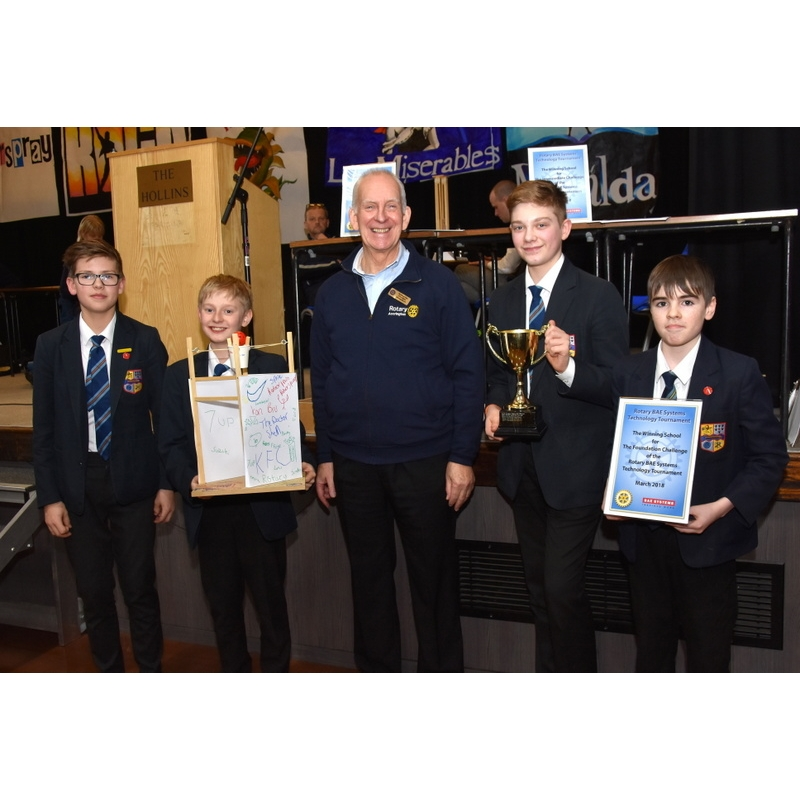 Technology Tournament 2018 - 82-Foundation Winners Haslingden High School