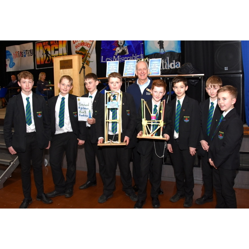 Technology Tournament 2018 - 83-Bowland A and B teams Foundation joint runners up