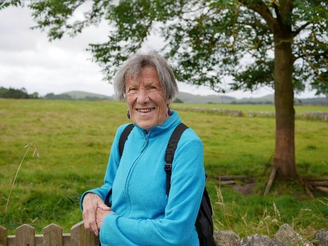 Dovedale Dipper - Results 2017 and earlier year results - Iva Barr completed the 15 mile walk aged 88
