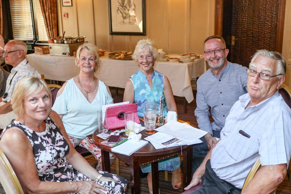 Monthly Meeting plus Installation of New President at Broadoak Hotel -