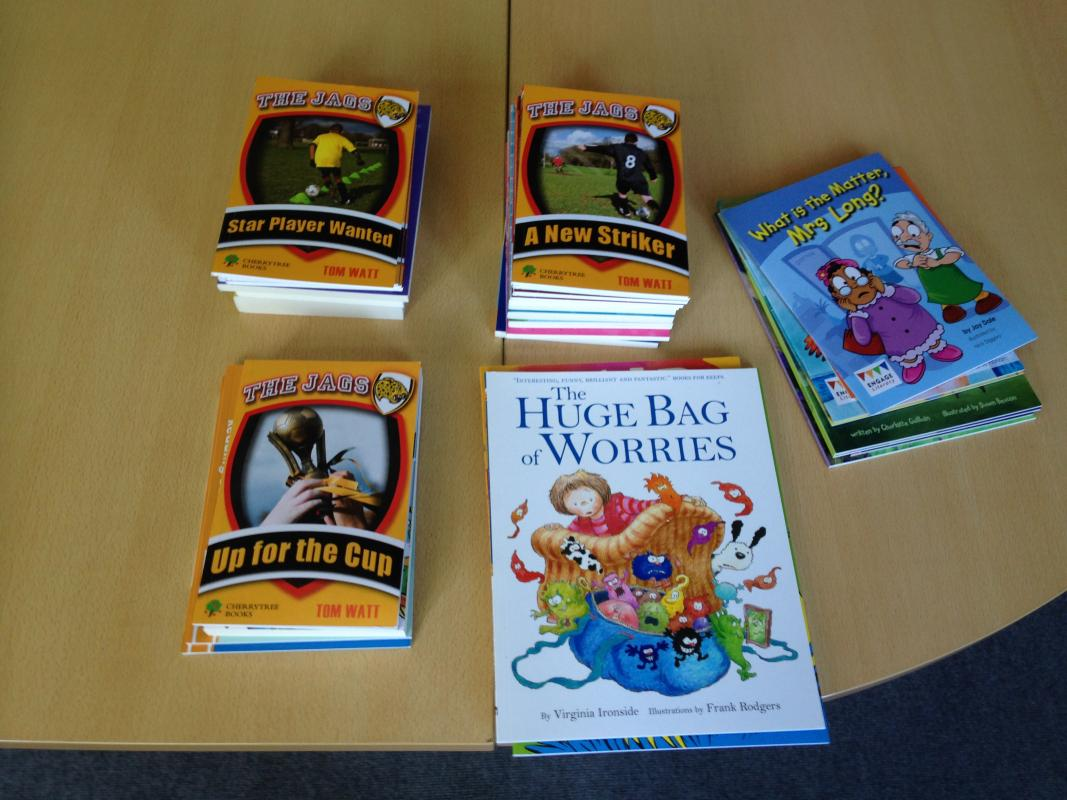 Rotary helps local schools expand their Banded Books selection - Banded Books are helpful for improving children's