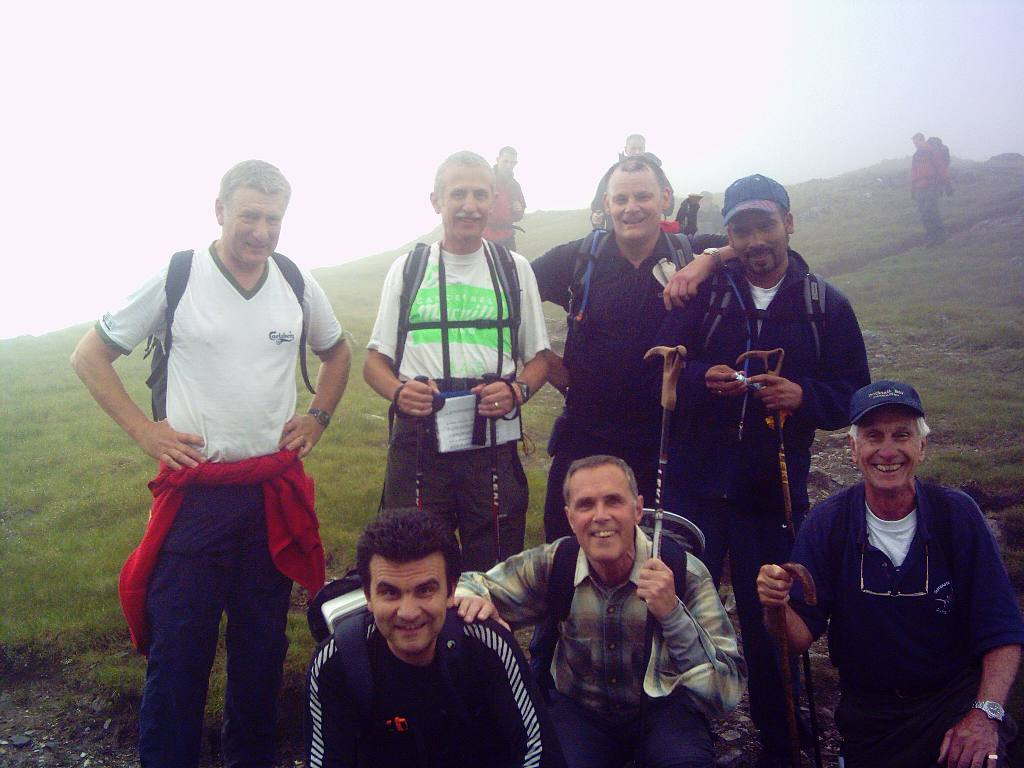 Rotary Mountain Challenge June '06 - Reaching Stob Ban - 24 June at 6:40 pm