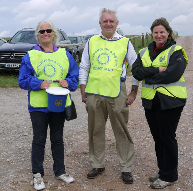 Horseless Steeplechase: 4 August 2013 - 8 car parking crew