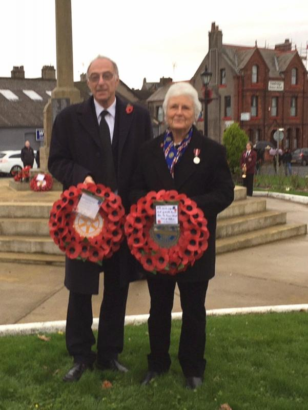 Remembrance Day - Sue and David