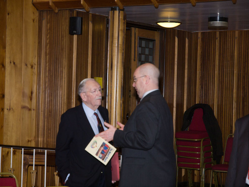 90 Years of Rotary in Kirkcaldy - ADG Bob Thomson chats with PP Ken Kelly
