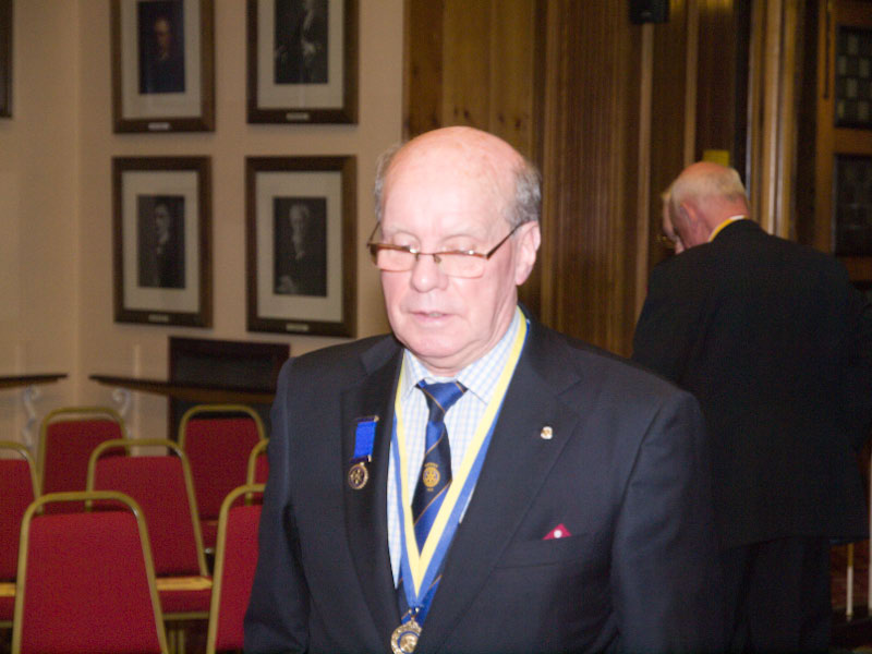 90 Years of Rotary in Kirkcaldy - PP Dave Maclachlan