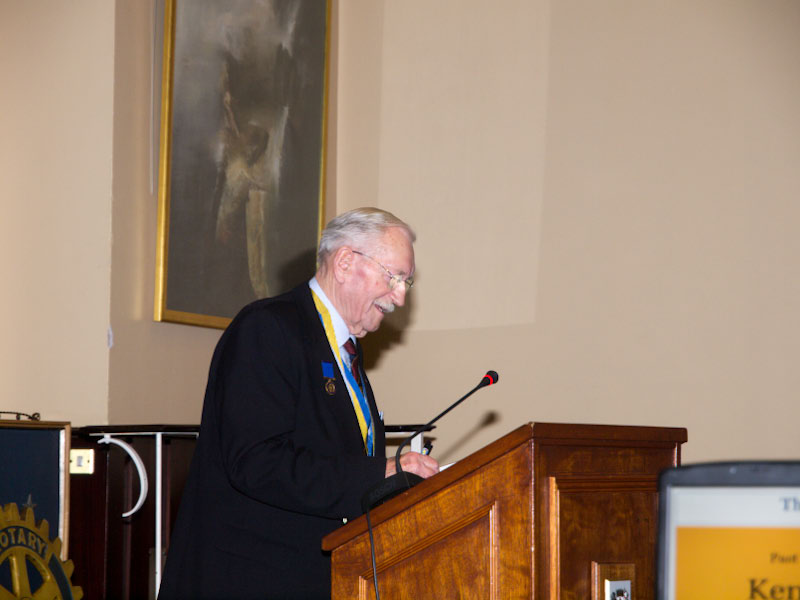 90 Years of Rotary in Kirkcaldy - PP Ken Kelly tells us about The Past