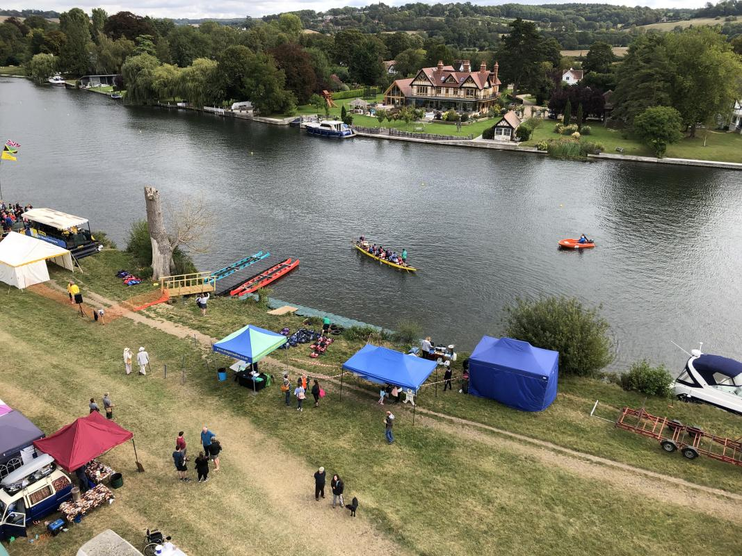 Cookham Regatta - Start of the Day - before the crowds