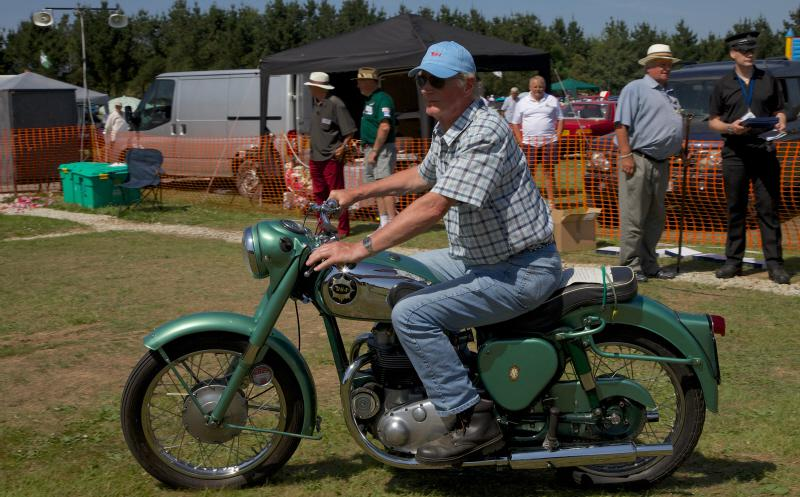 Wheels 2013 - Report and Slide Show - A BSA