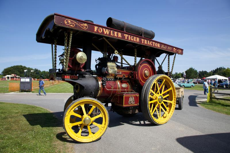 Wheels 2013 - Report and Slide Show - A Steamer
