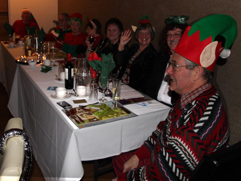 Christmas Party Panto - A break in the performance