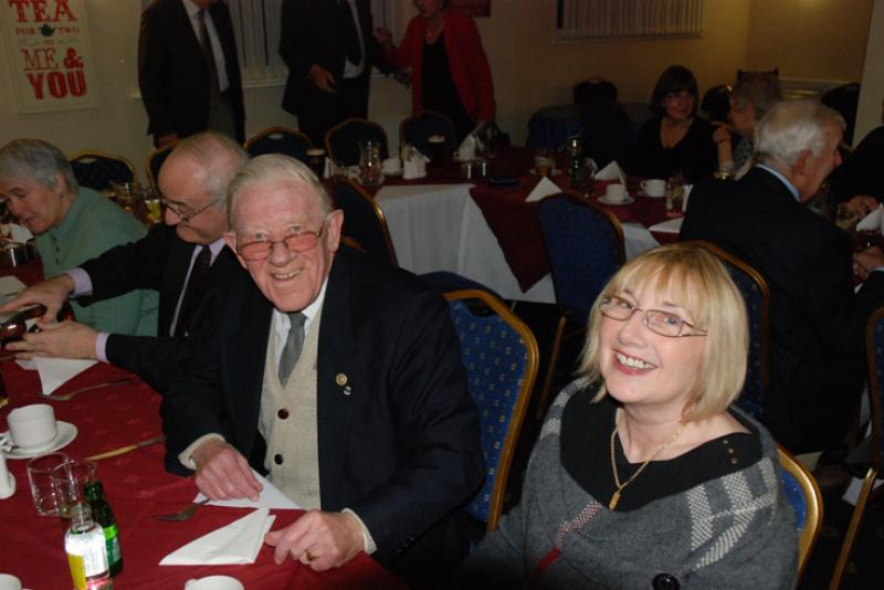 BURNS NIGHT - A night of smiles.
