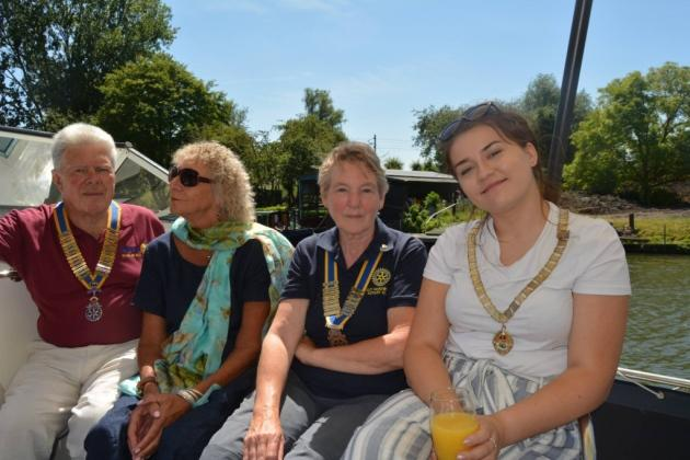 Ely Aquafest 2018 - Ely and Hereward Presidents