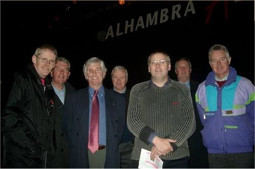 Alhambra - Club on visit to Alhambra, Dunfermline 11/12/07