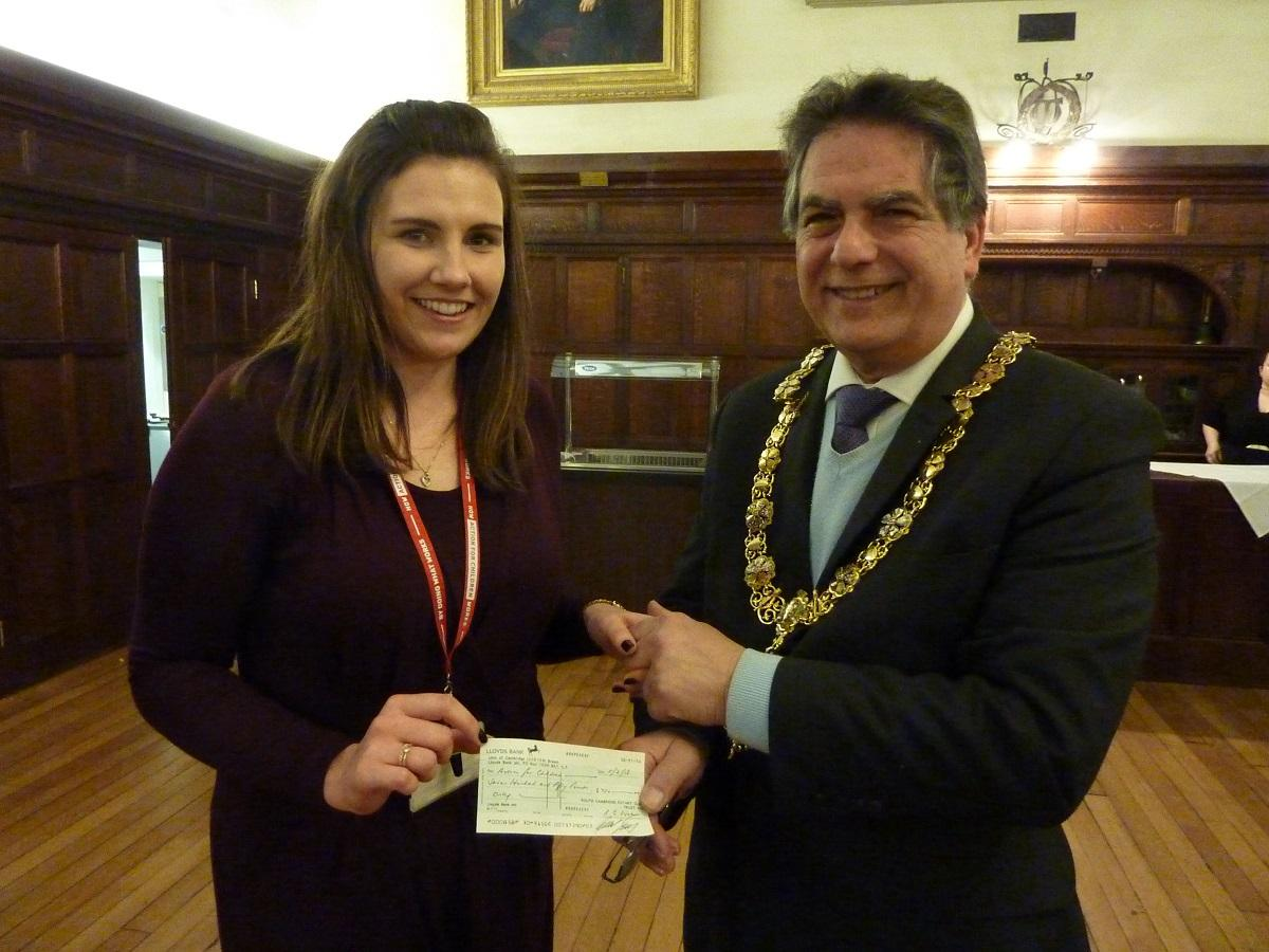 Feb 2018 Charities Cheque Night - .