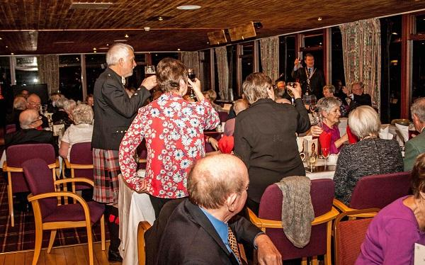 Burns Night at the Rotary - Members and guests