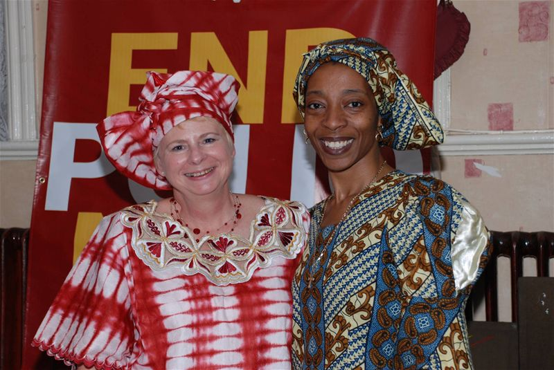 Africa Night for END POLIO NOW - September 2009 -