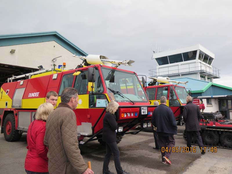 Visit to Dundee Airport - Airport2