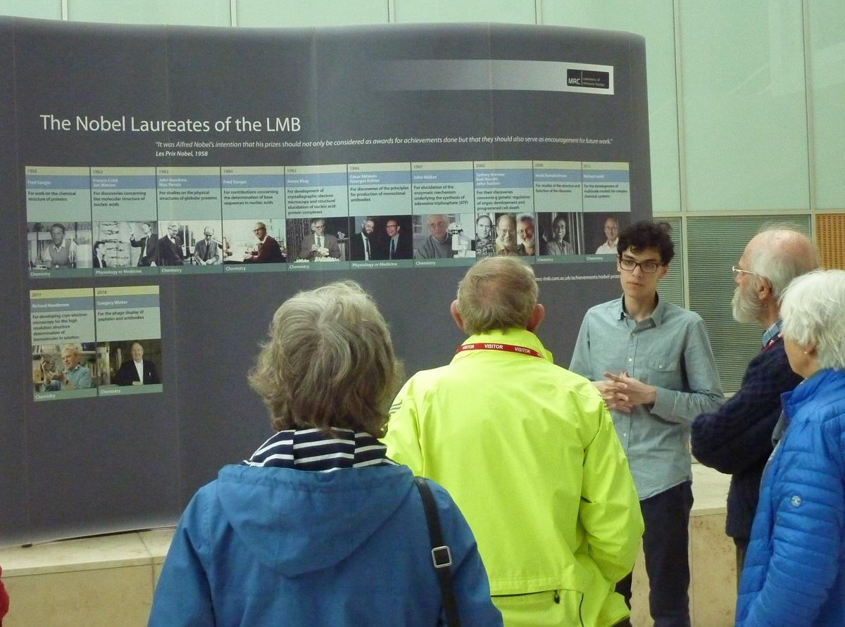 Apr 2019 Tour of famous MRC Lab of Molecular Biology - .