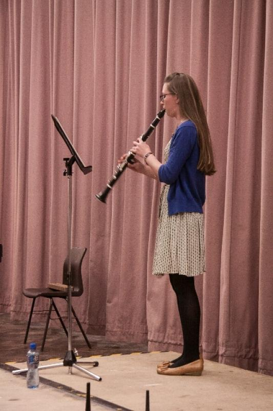 Young Musician Competition 2015 - Alice Huxley - Clarinet 1
