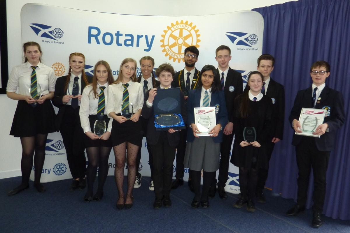 Youthspeaks (Senior) Regional Final, Stirling, 2019 - All Competitors