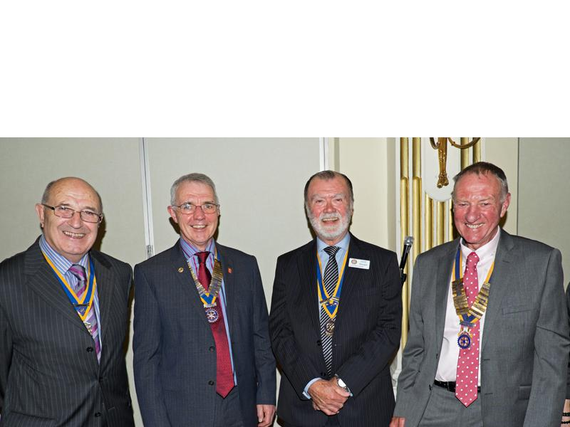 Handover Meeting - All The Presidents - Clive Purchase (Southport),