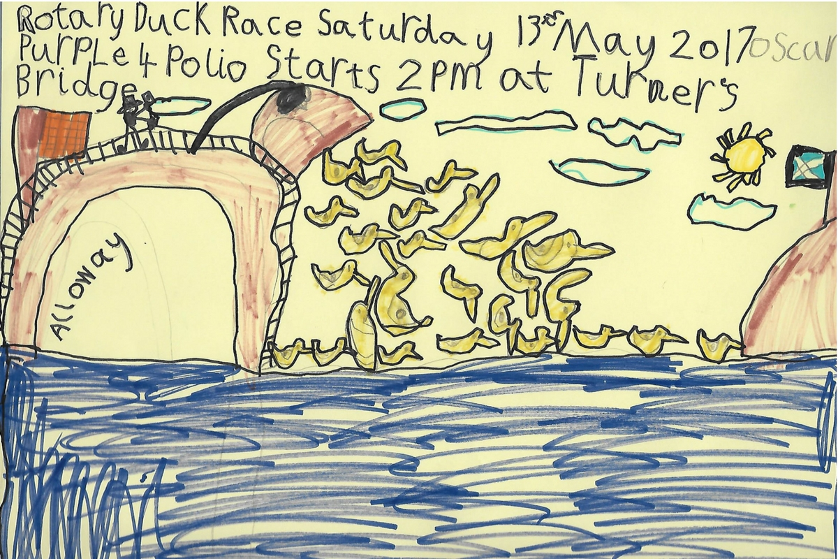 Alloway Primary School Duck Race Posters - Alloway Primary School P2 Duck Race Posters