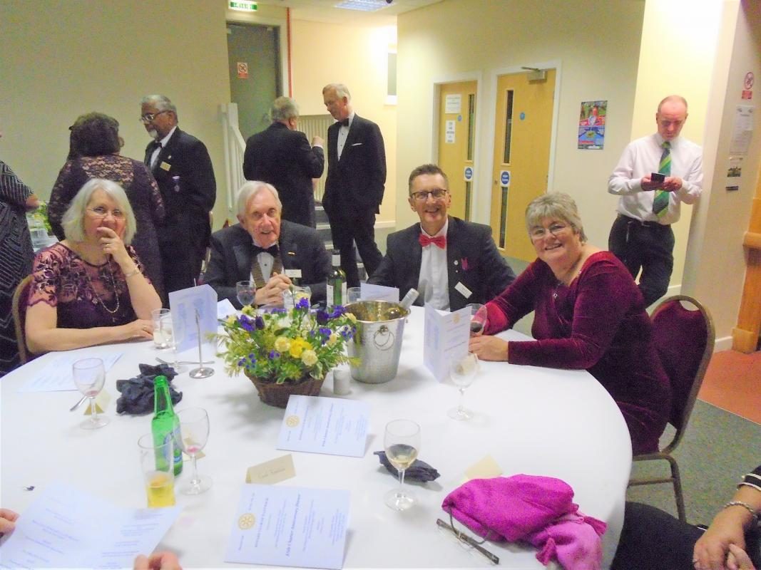 Nantwich Rotary 85th Charter Night - Members of Alsager Rotary