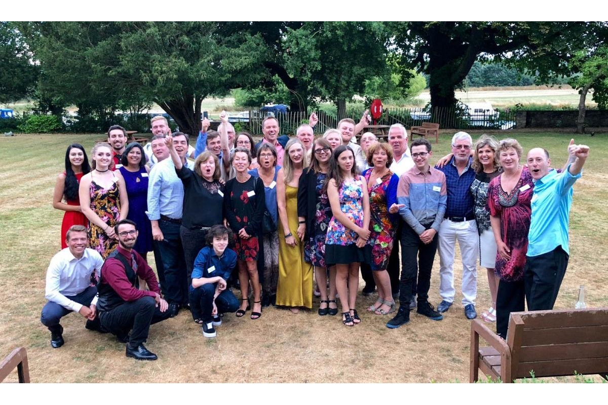 Inspiring Alumni from Rotary Programmes - Alumni celebrate the Charter with their families