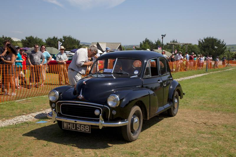 Wheels 2013 - Report and Slide Show - An early Morris Minor