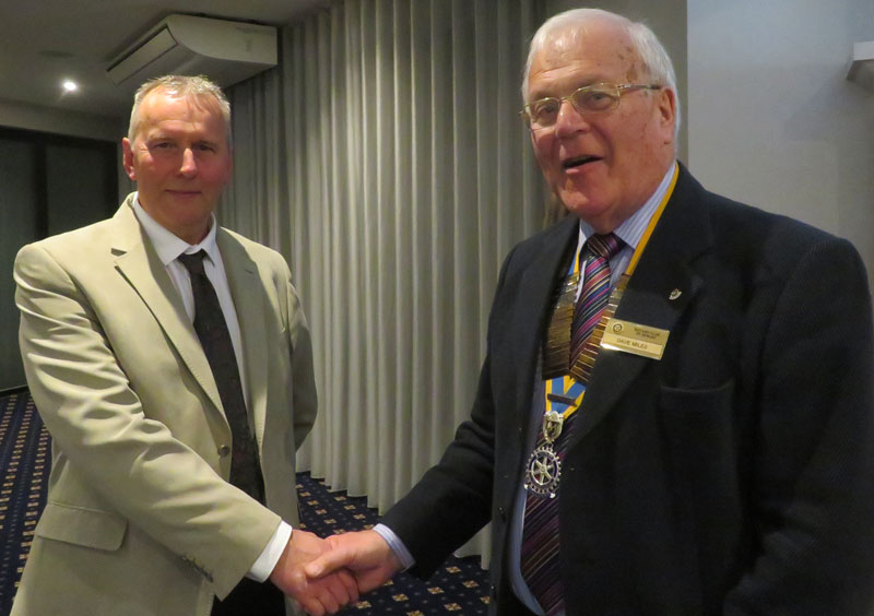 New members for Senlac Rotary Club -