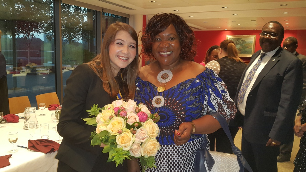 Presidential Hand Over @ the International Maritime Organisation - Anna & Rose