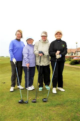 2012 Annual Charity Golf Competition - Local ladies Jan Kerr, Etta Deamer, Jen Wallace and Jean Thorpe