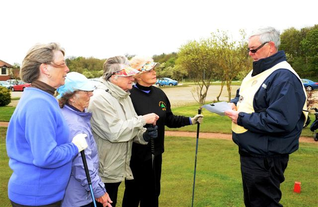 2012 Annual Charity Golf Competition - Final orders from Keith