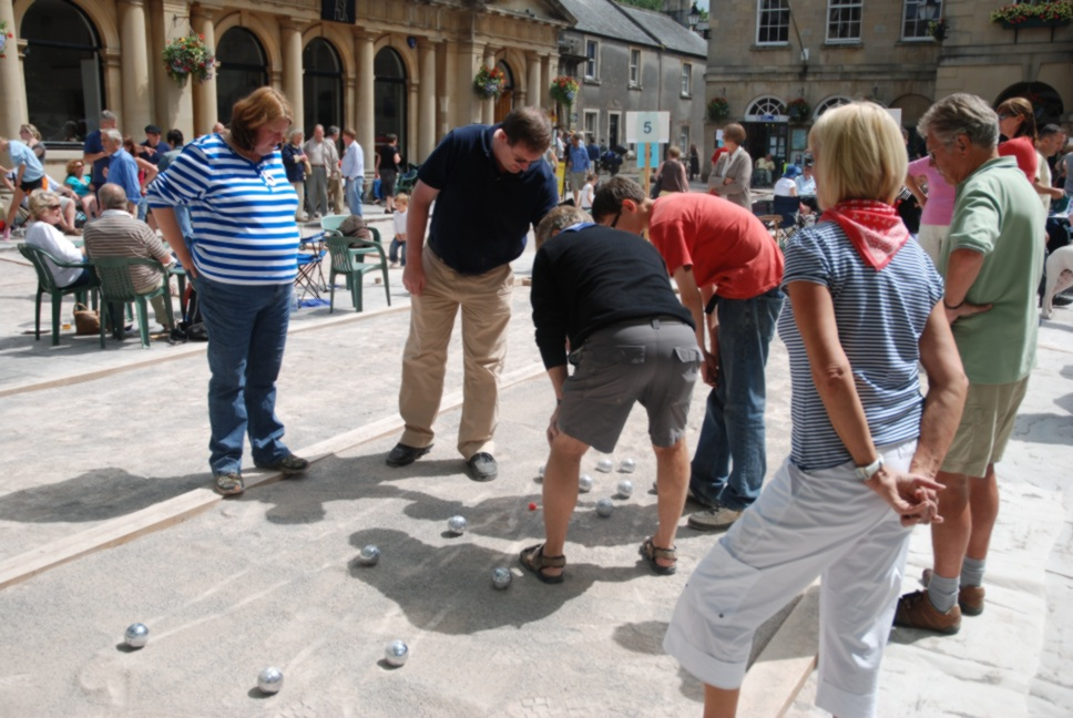Wells Boules Tournament 2008 -  Are you sure that is yours?