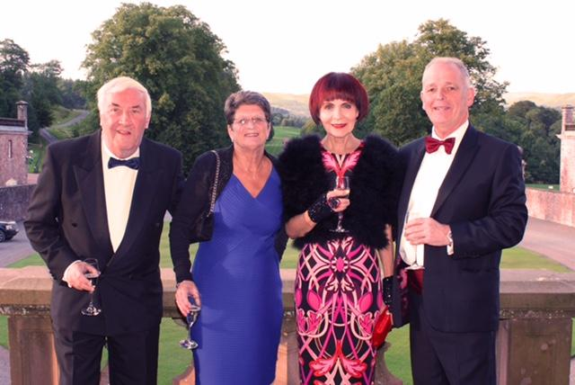 40th Anniversary Charter Dinner - Left to Right: Brian Hunter, Linda Hunter, May Lawson, Gordon Lawson