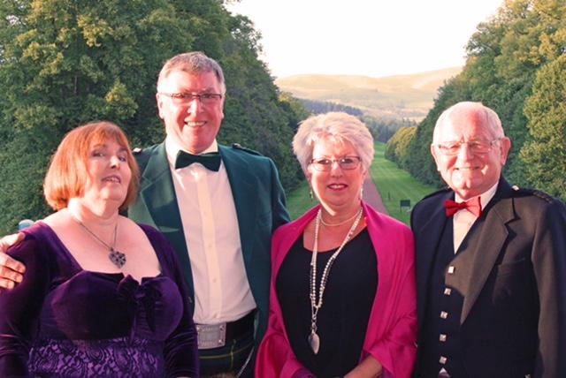 40th Anniversary Charter Dinner - Left to Right: Maria Harley, Bill Harley, Joan Neilson, Gordon Neilson