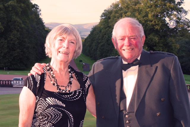 40th Anniversary Charter Dinner - Left to Right: Brenda Sillars, Alastair Sillars