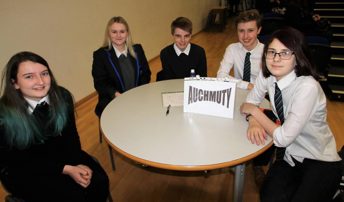 Top of the Form 2017 - Auchmuty