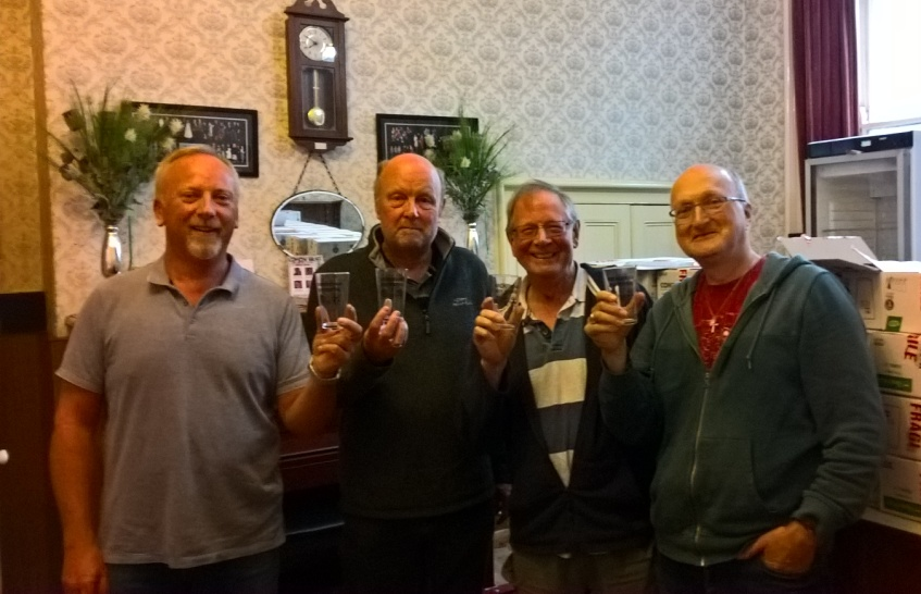 Inaugural Aireborough Beer festival - When the going gets tough!