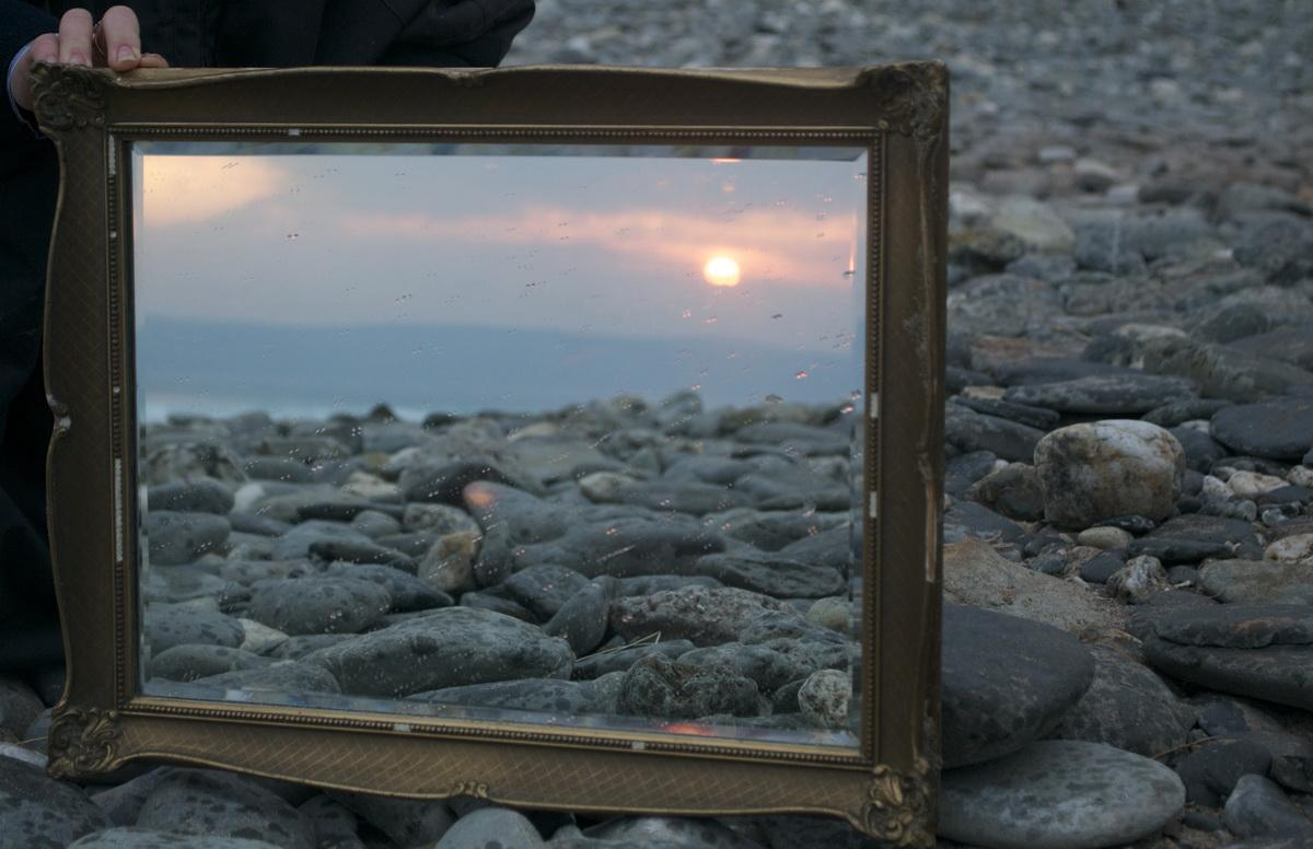 2016-17 Young Photographer Competition Results - Richard Lander School, RC of Truro - Mirror reflecting the Sun of the day that has passed