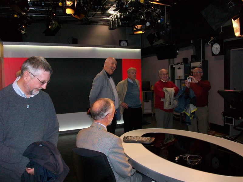 BBC Studio Visit 2010 - Short back and sides sir?